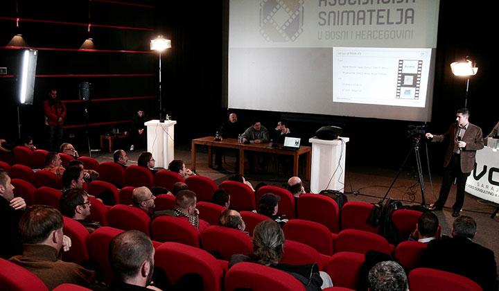 Svečana skupština Asocijacije snimatelja u BiH, 2011.